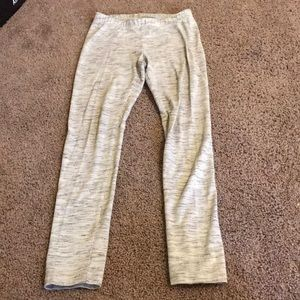 Girls grey cat and jack leggings size 7/8